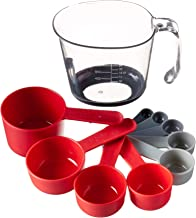 Tovolo Magnetic Nested Measuring System, Ideal for Wet and Dry Ingredients, Dishwasher Safe