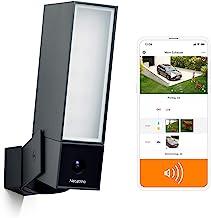 Netatmo NOC-S-DE - Cámara de vigilancia Inteligente para Exteriores con Sirena de 105 dB, WiFi, iluminación integrada, det...