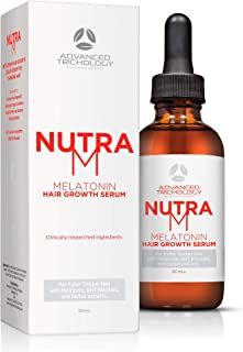 Sponsored Ad - NutraM Hair Regrowth Serum for Thinning Hair for Men and Women - Topical DHT Blocker, Reverse Alopecia and ...