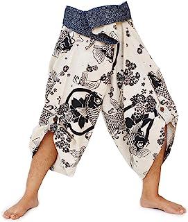 Harem Pants Women Men Yoga Ninja Pants Samurai Style