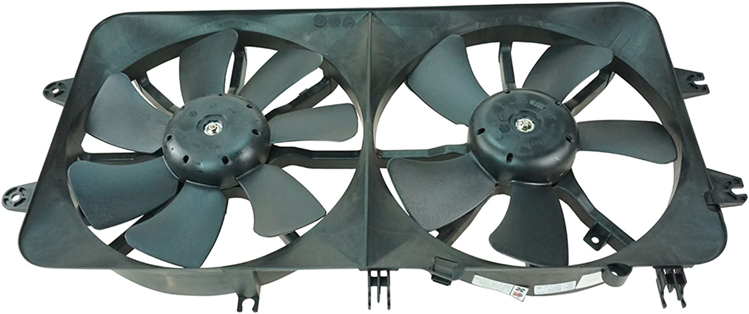 Radiator Cooling Fan Assembly w/Motor for 00-02 Mazda 626 2.0L ...