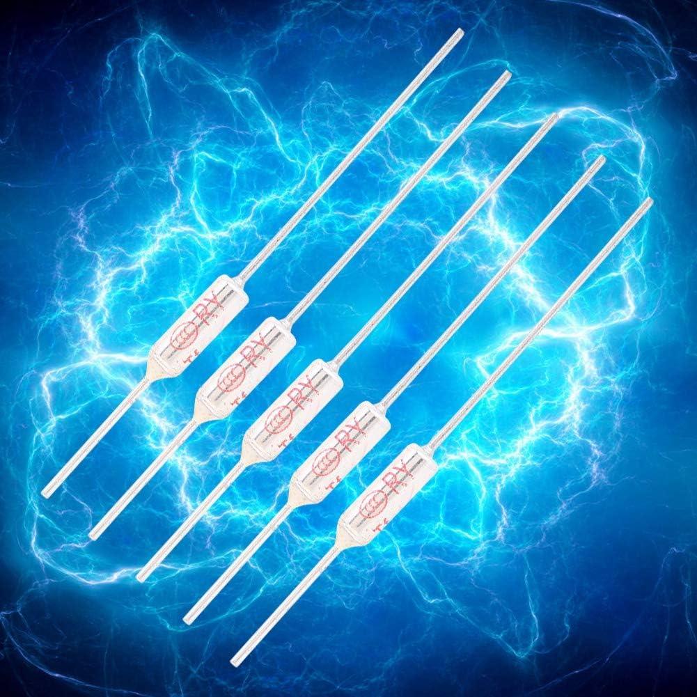 spegnimento 250 VAC 10 A. 250 /°C ciotola in metallo 10 fusibili di temperatura TF 72 fusibile termico
