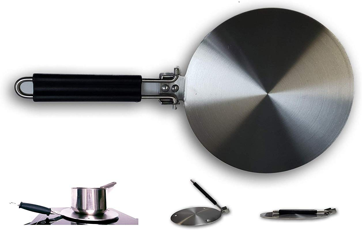 Upromax Induction Hob Heat Diffuser Stainless Steel Lite Weight 20cm 7 8