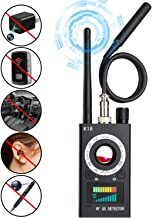 Anti Spy Camera Detector, RF Detector & Camera Finder, Bug Detector, Wireless Signal Pinhole Laser Lens GSM Tracking Device Ultra-high Sensitivity Full-Range Tracker Finder