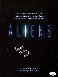Carrie Henn Signed Autographed Movie Program Aliens JSA HH37651