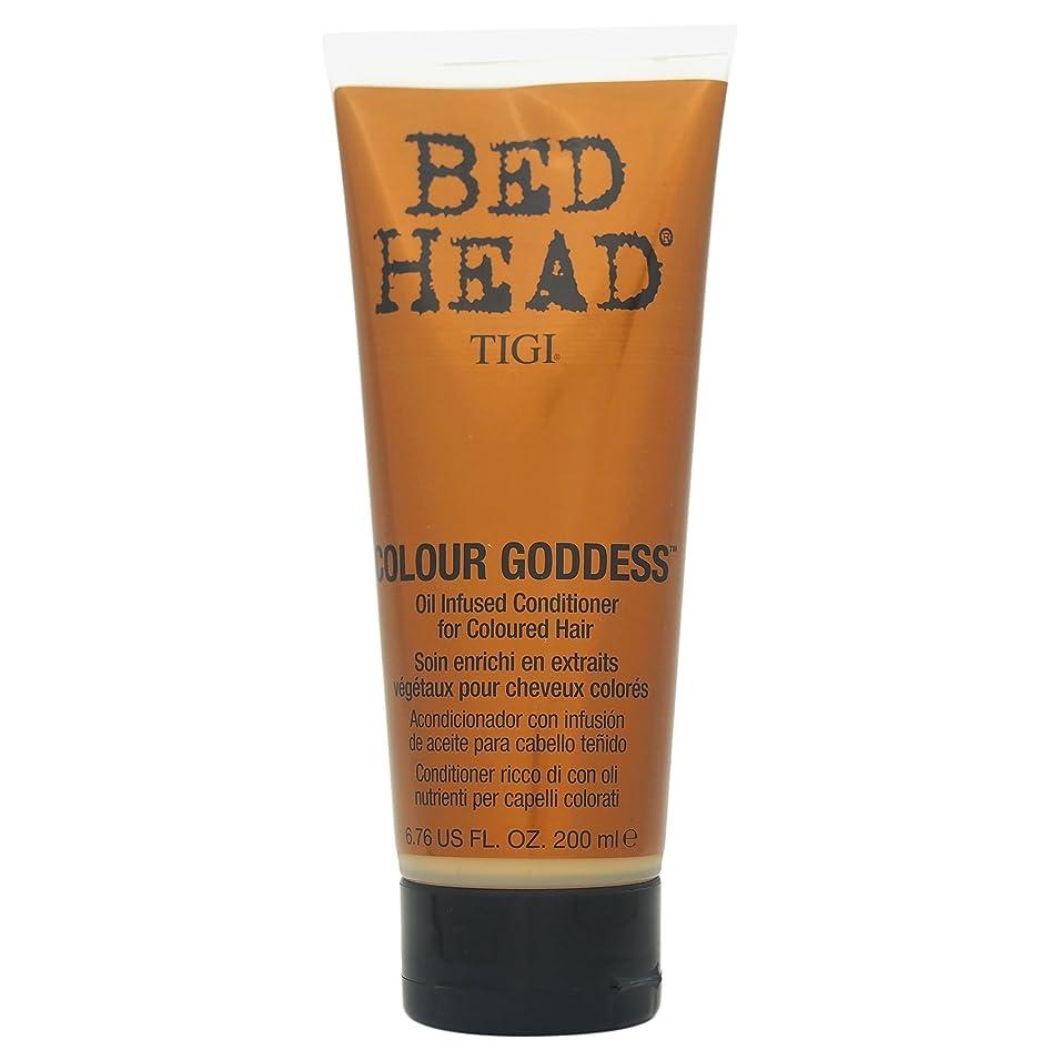 要旨統合浴室Tigi Bed Head Colour Goddess Oil Infused Conditioner 200ml [並行輸入品]