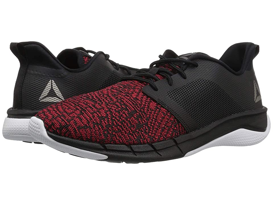 Reebok Kids Print Run 3.0 (Big Kid) (Black/Red/White) Boys Shoes
