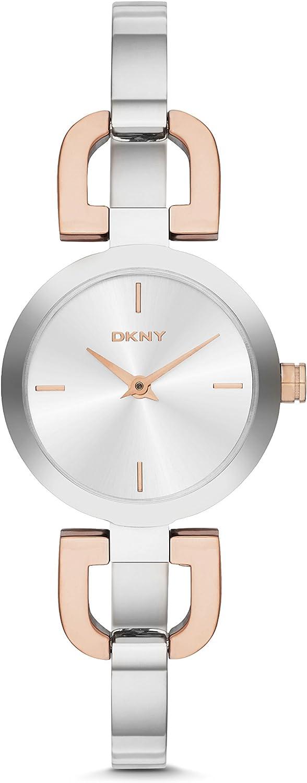 DKNY NY2137 Ladies Reade Two Tone Steel Bangle Watch