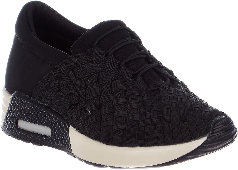 Bernie Mev Womens Best Tori Fashion Sneakers (7.5 B(M) US, Black)