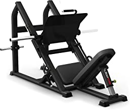 Bodykore 45 Degree Commercial Leg Press- Plate Loaded Club Series- Model G274 (Black)