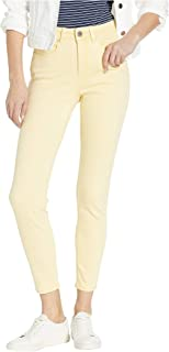 Solid Cool Twill Olivia Slim Ankle Buttercup 6