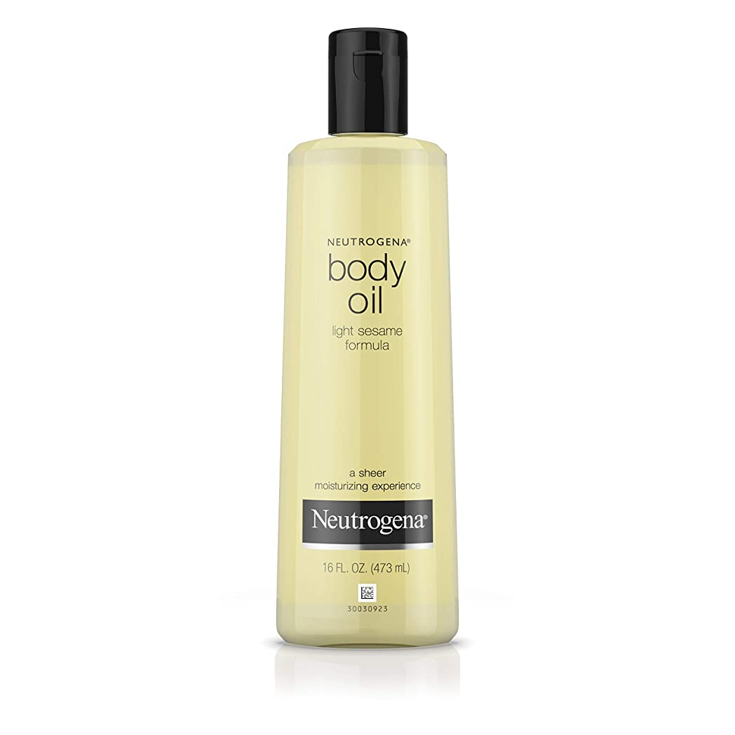 美人見分ける病Neutrogena Body Oil Light Sesame Formula, 16 Fluid Ounce (473 ml)