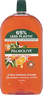 Palmolive Antibacterial Liquid Hand Wash Refill Orange, 1L