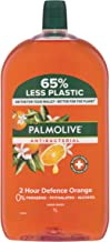 Palmolive Antibacterial Liquid Hand Wash Soap Orange 2 Hour Defence Refill and Save 0% Parabens Recyclable, 1L