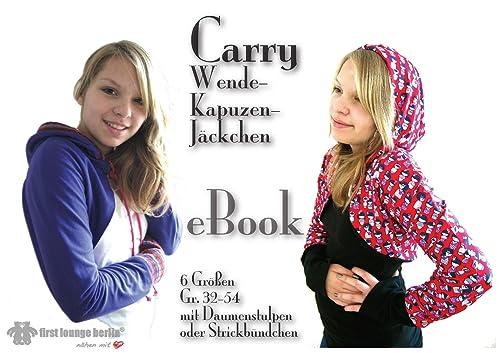 Carry Wendejacke Nähanleitung mit Schnittmuster in 6 Größen Gr. 32-54 PDF [Download]