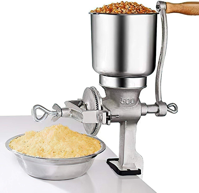 市場 時間指定不可 Hand Cranking Operation Grain Grinder Home Use Great for Kin All