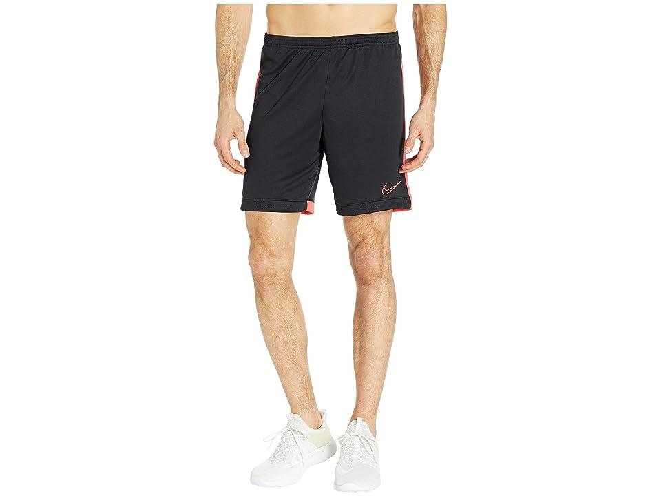 Nike Dry Academy Shorts K (Black/Ember Glow/Ember Glow) Men