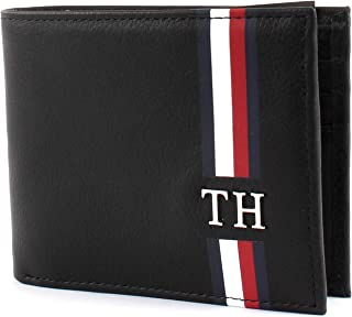 Tommy Hilfiger Men's Corporate Mini Wallet, Black