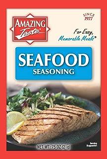 Amazing Taste Seafood Seasoning Bundle (10 Packets- .75 oz ea.)
