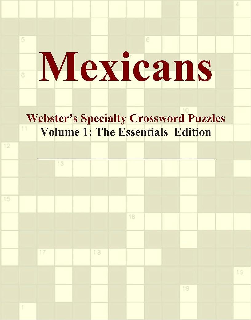 マンモス好意的アニメーションMexicans - Webster's Specialty Crossword Puzzles, Volume 1: The Essentials Edition