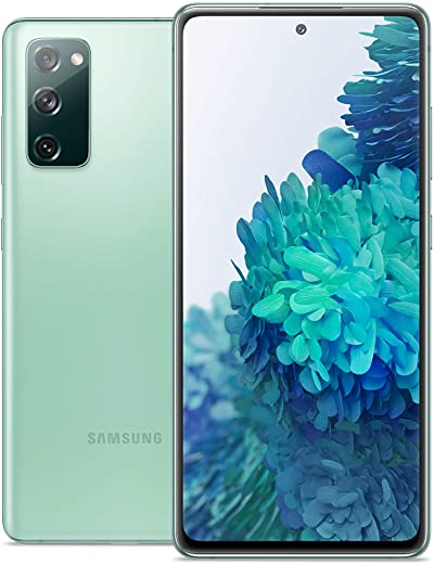 Samsung Galaxy S20 FE 5G   Factory Unlocked Android Cell Phone   128 GB   US Version Smartphone   Pro-Grade Camera, 30X Space Zoom, Night Mode   Cloud Mint Green