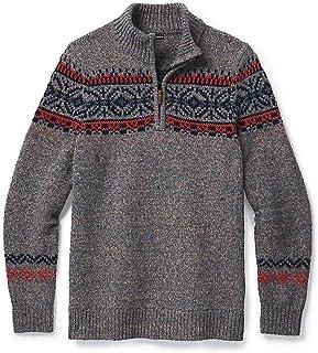 CHUP Hansker 1/2 Zip Sweater Camel Heather/Medium Gray...