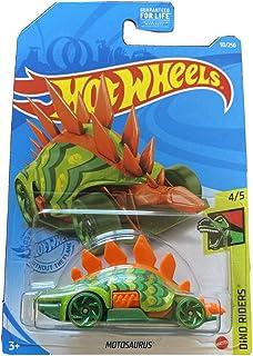 DieCast Hotwheels Motosaurus (Orange/Green) 93/250 - Dino Riders 4/5 Treasure Hunt