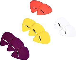اختيارات جيتار من أمازون بيسيكس، ألوان سادة، سليلويد، 10 قطع