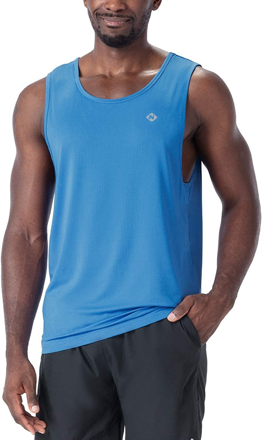 NAVISKIN Special price for a limited time Men's Workout Tank Running Muscle Safety and trust Sleeveless Tops