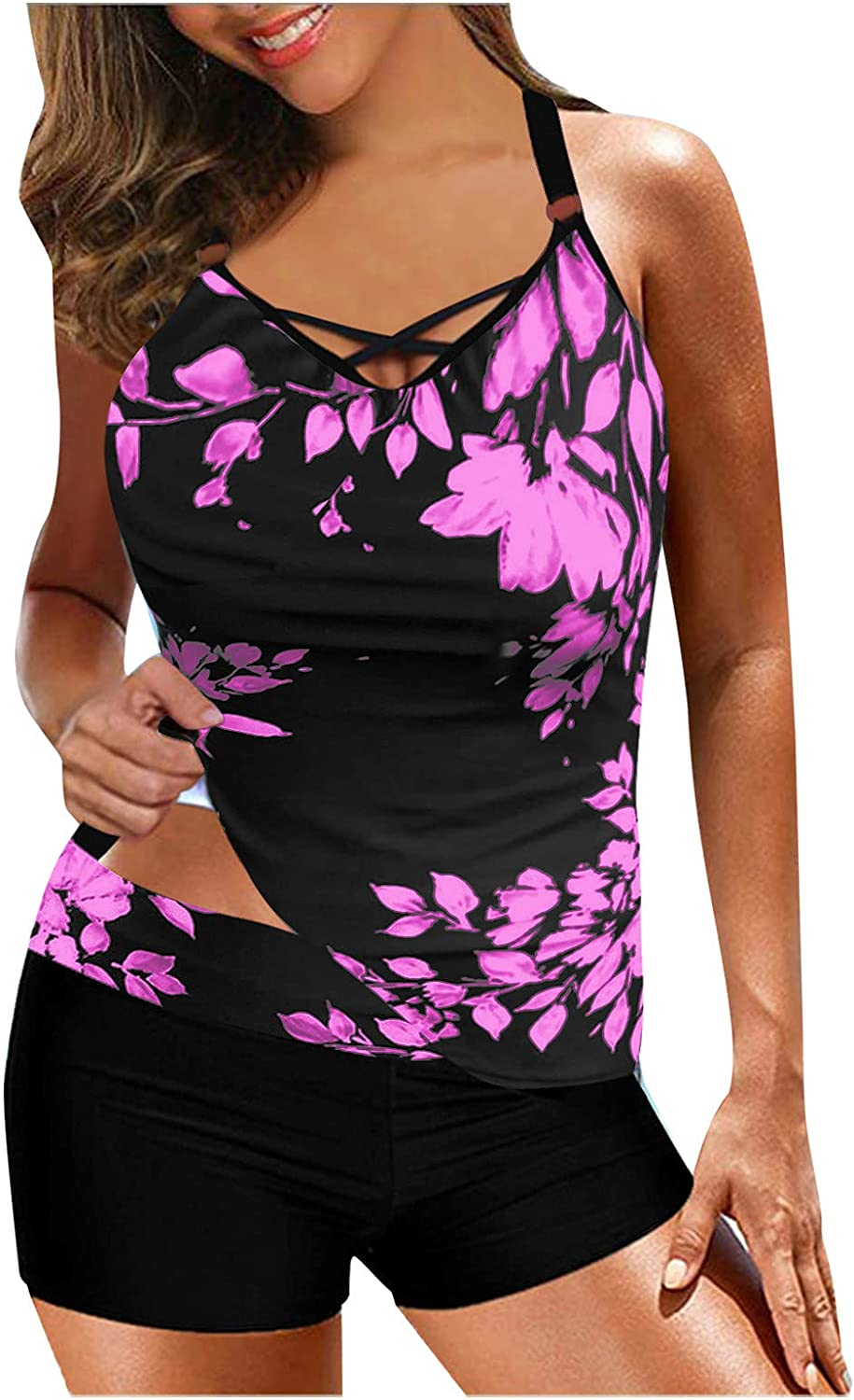 FANGTION Bathing Suit Cover One Piece Bathing Suit for Women Sexy Womens Tankini Swimsuits Cover Ups Swimwear Swimsuits