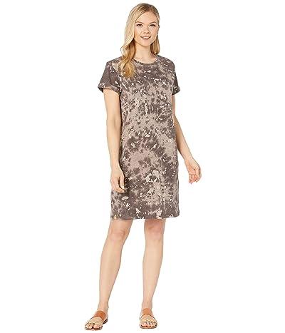 tentree Natures Dress (Chebula Black Ice Dye) Women