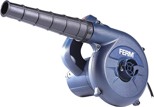 FERM EBM1003 Elektrische stofblazer 400W - Variabele snelheid - Inclusief stofzak en 3m kabel, blauw