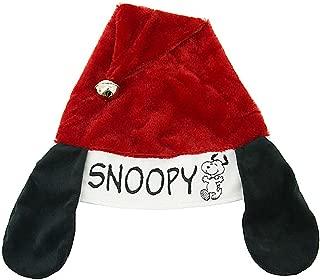 Peanuts 16 Inches Snoopy Adjustable Santa Hat