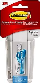 Command Clear Caddy, Small, 1-Caddy, 2-Strips (HOM16CLR-ES), Organize your dorm