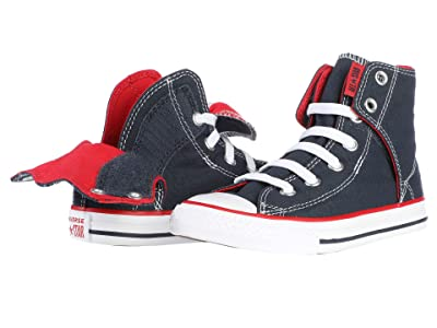 Converse Kids Chuck Taylor(r) All Star(r) Easy Slip (Little Kid/Big Kid) (Navy) Kids Shoes