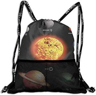 All agree Drawstring Bag Playful Cat Womens Gym Backpack Fabulous Mens Travel Small Bags for Boys