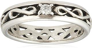 [FREE STYLE] 钻石 阿拉伯风格银戒指