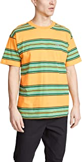 Obey Route Classic Short Sleeve T-Shirt Medium Yellow Multi