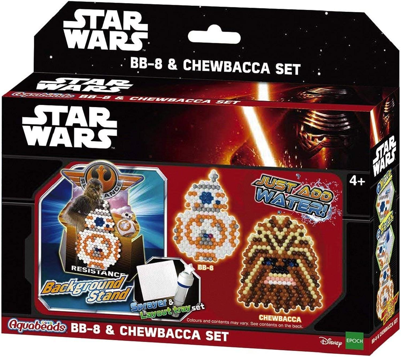 3 X Star Wars BB8 and Chewbacca Set