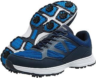 حذاء جولف رجالي من Thestron حذاء رياضي مسامي للمشي الجولف 7 مسامير