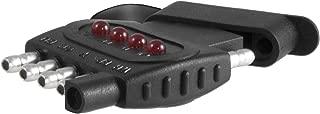CURT 57505 Way Flat 5-Pin Trailer Wiring Towing Vehicle Socket Tester