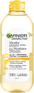 Garnier Micellar Cleansing Water, All-in One Makeup Remover + Face Cleanser With Vitamin C, Hypoallergenic, All Skin Types...