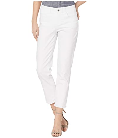 Jag Jeans Ruby Straight Denim Crop (White) Women