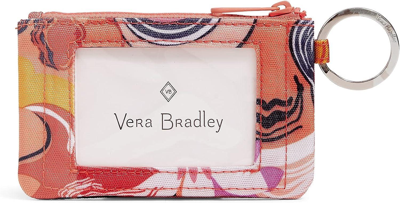 Vera Special sale item Bradley Women's Recycled Lighten Up ReActive Wa ID Case Max 72% OFF Zip