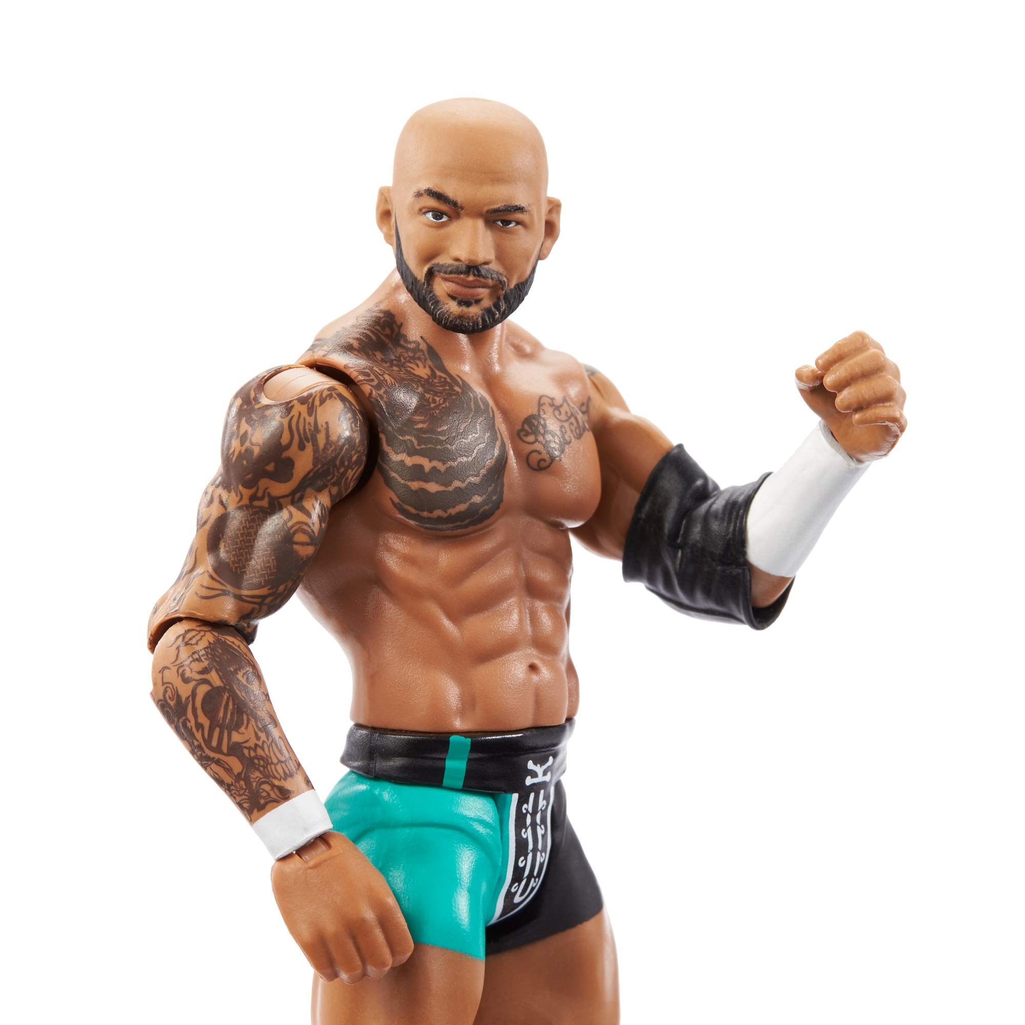 WWE Ricochet Action Figure, Posable 6-in Collectible for Ages 6 Years Old & Up