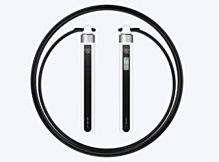 JDFitMo Smart Rope Bluetooth LED w/ Interactive App, USB Rechargeable Fitness display for ANYONE