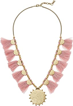 Lucky Brand Fringe Statement Necklace