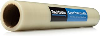 """Carpet Protection Film 24"""" x 200' roll. Made in The USA! Easy Unwind, Clean Removal, Strongest and Most Durable Carpet Protector. Clear, Self-Adhesive Surface Protective Film."""