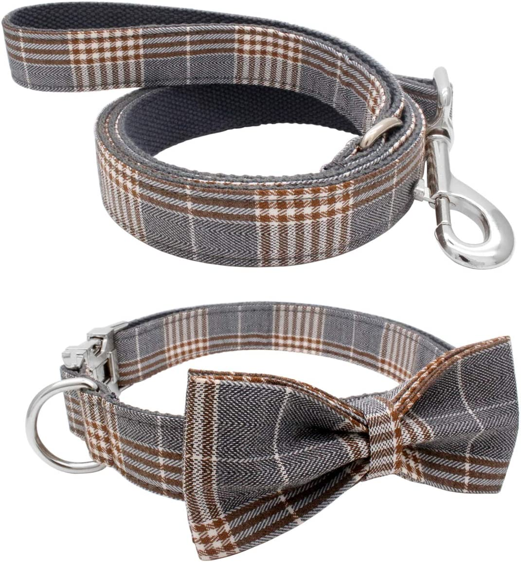 YOY Soft Challenge the lowest price of Japan Comfortable Adjustable Virginia Beach Mall Pet with Bowtie Du Collar Heavy