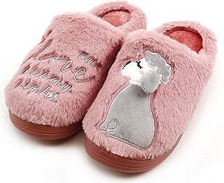 Signore Donne Morbido Caldo Inverno Slip On peloso camera da letto Pantofole Ciabatte di Scarpe 3-8